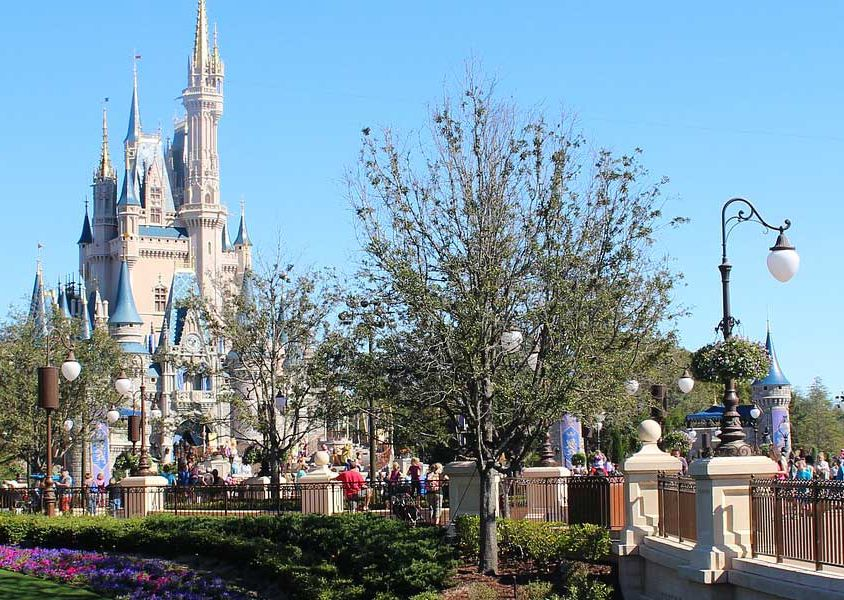 Shows Magic Kingdom castle - Orlando 2 week itinerary ideas