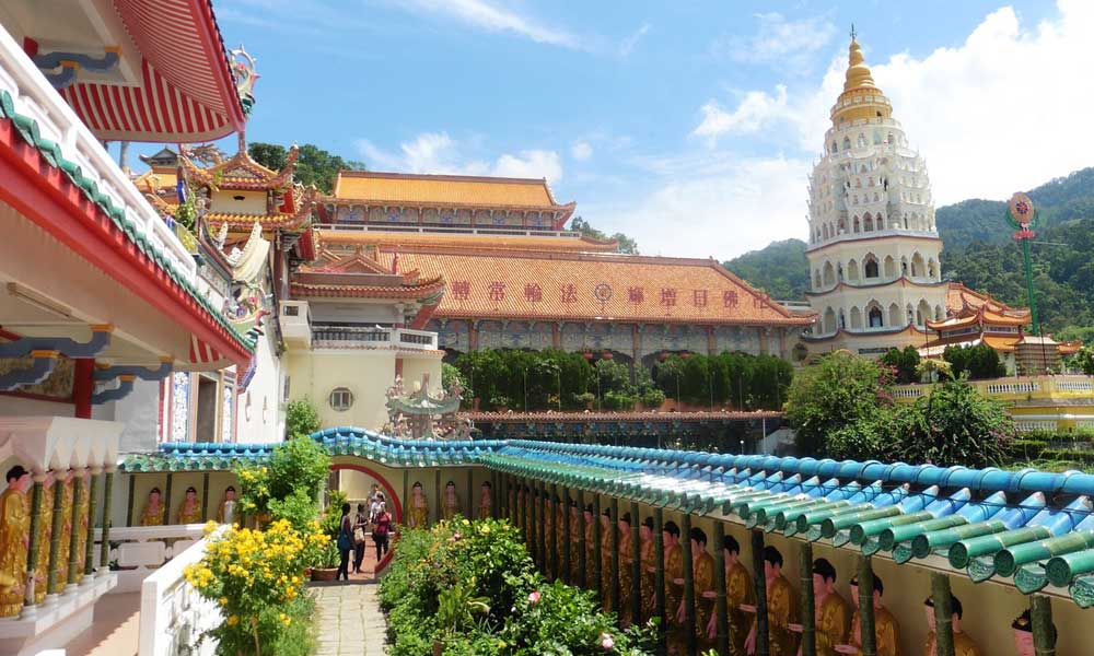 Penang Malaysia temples - March holiday to Malaysia