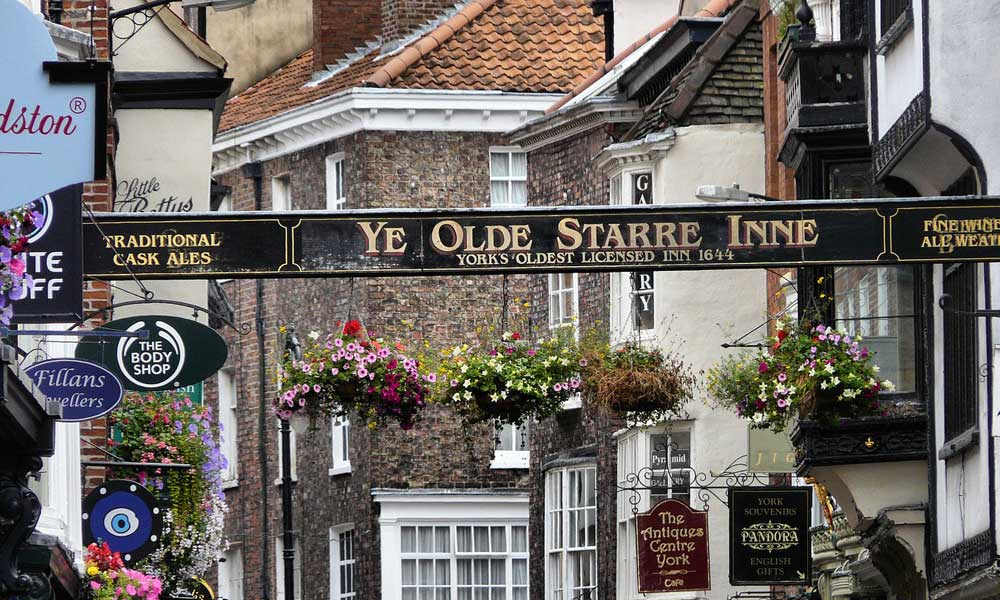 Best UK cities - York old city streets