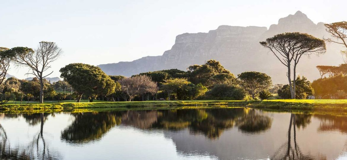 Where to go on holiday in April - depicts South Africa nature park
