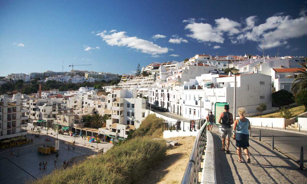 Things to do near Albufeira - depicts scenic coastal route from Albufeira New Town