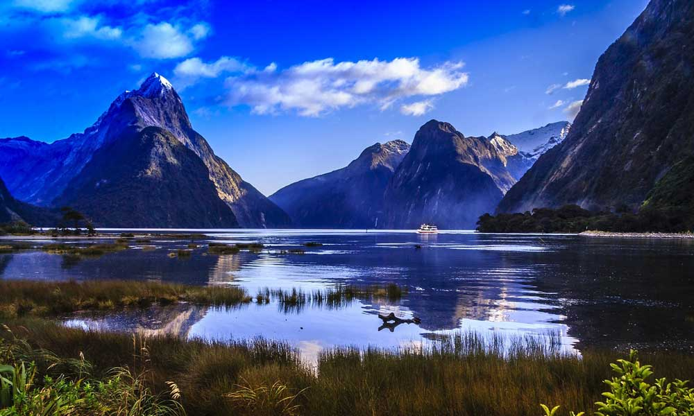 Best countries for adventure - Depicts stunning mirror lake and mountains