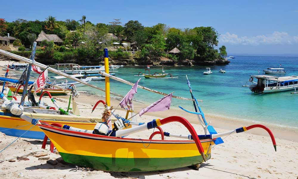 Cheap long-haul destinations August - Shows Bali beach