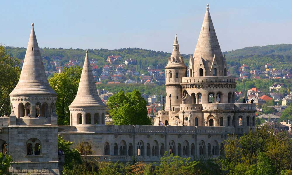 Where to go on holiday in July - Shows Budapest castle