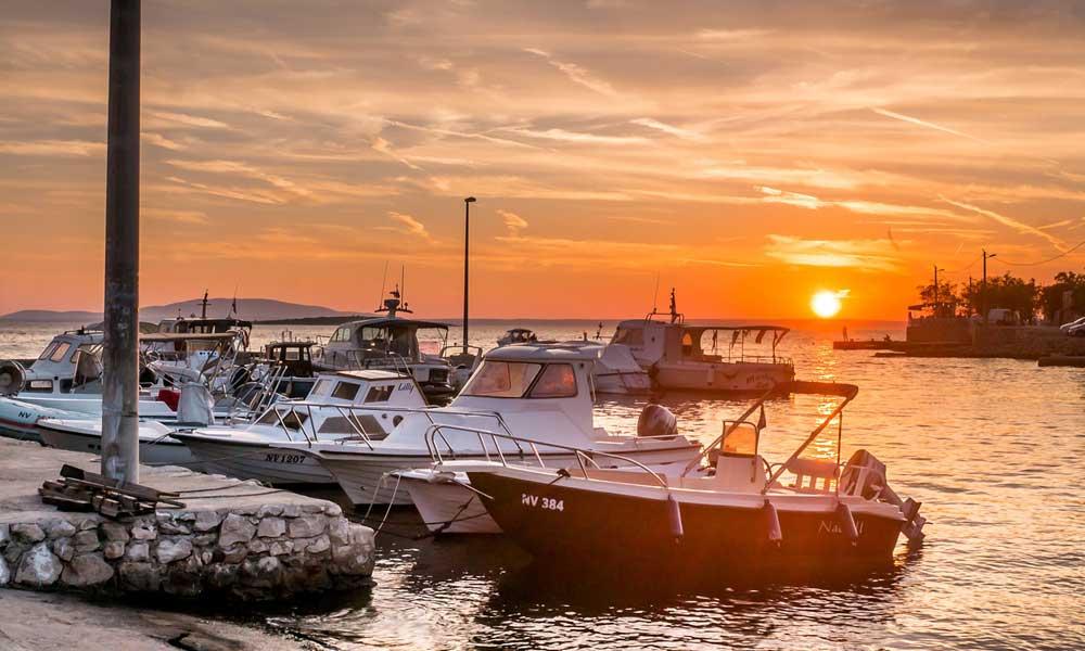 Things to do in Novalja - shows Novalja marina