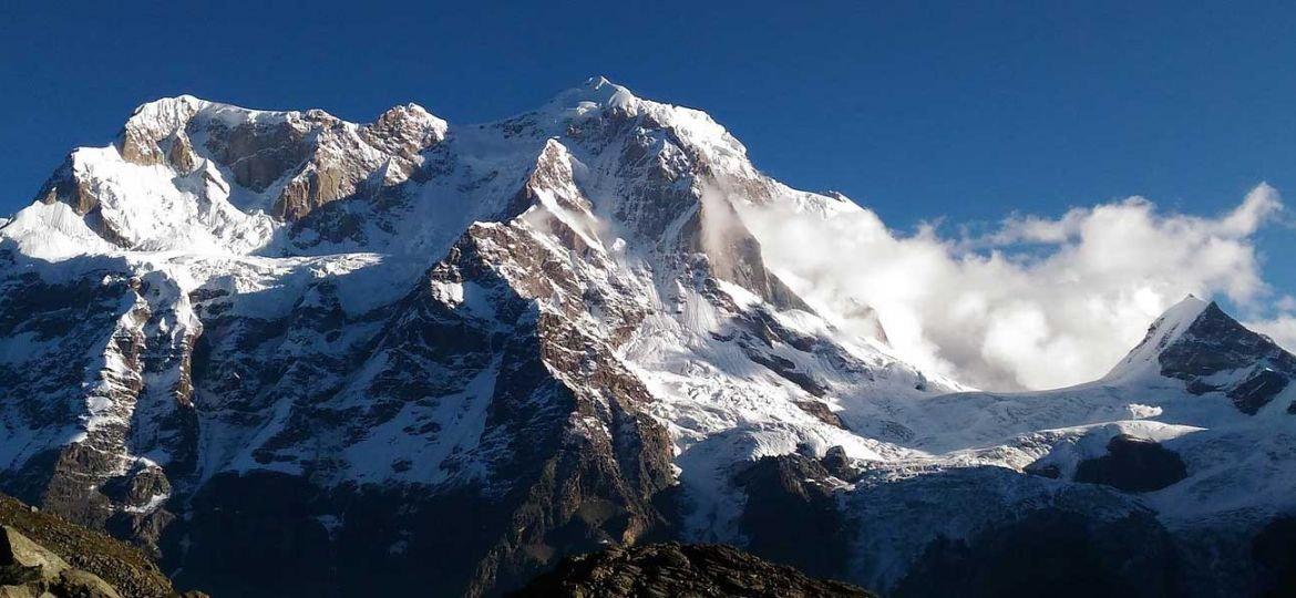 The best treks in Nepal - shows the Himalayas mountain range