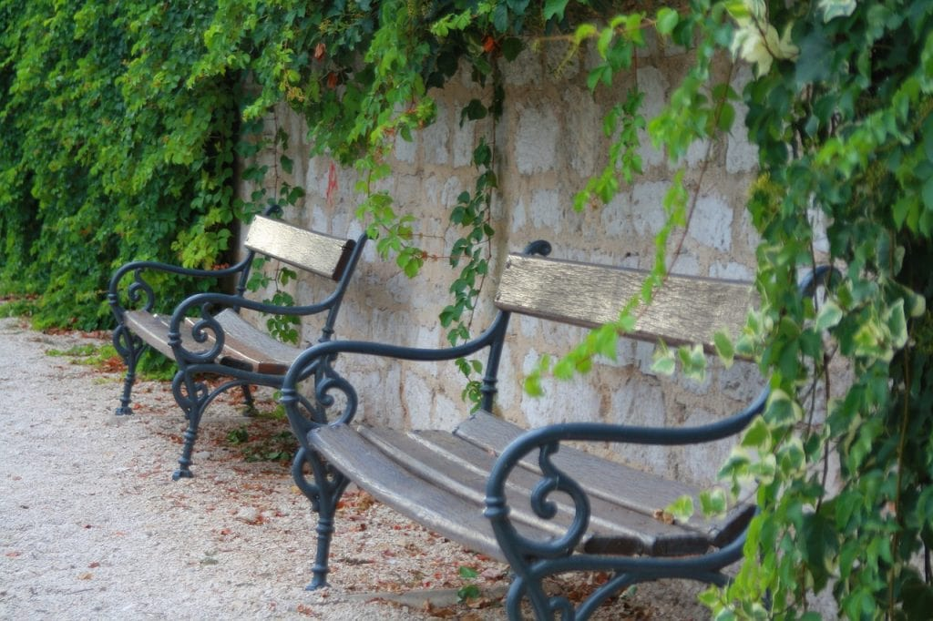 Things to do in Zadar - Relax in the park - shows park bench