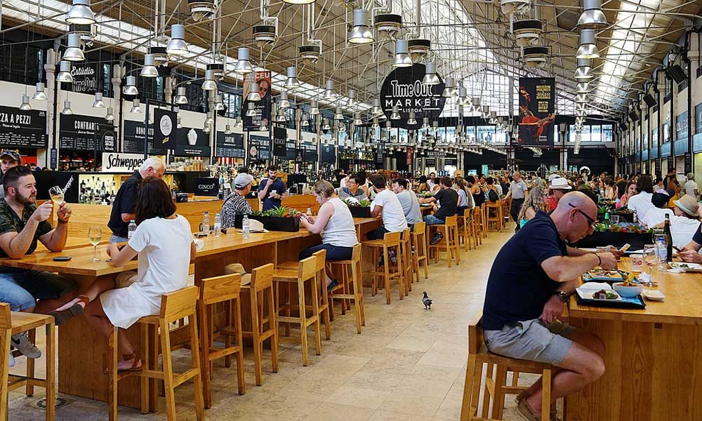 Places to visit in Lisbon - Shows Timeout Food Market