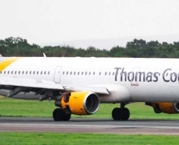 What to do when an airline or travel company goes bust - Shows Thomas Cook aeroplane