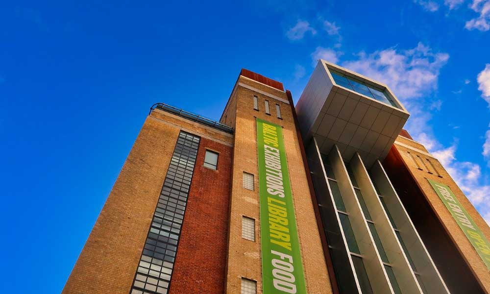 Shows the Baltic Centre for Contemporary Art museum