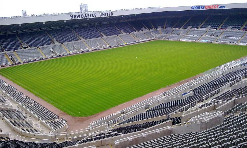 NUFC St James' Park stadium
