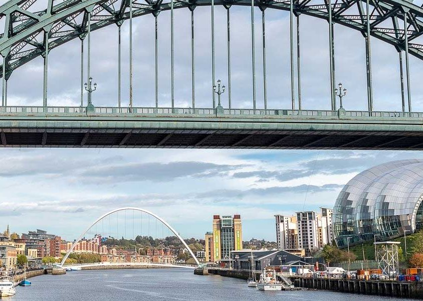 Things to do in Newcastle - Shows the bridges of the Quayside