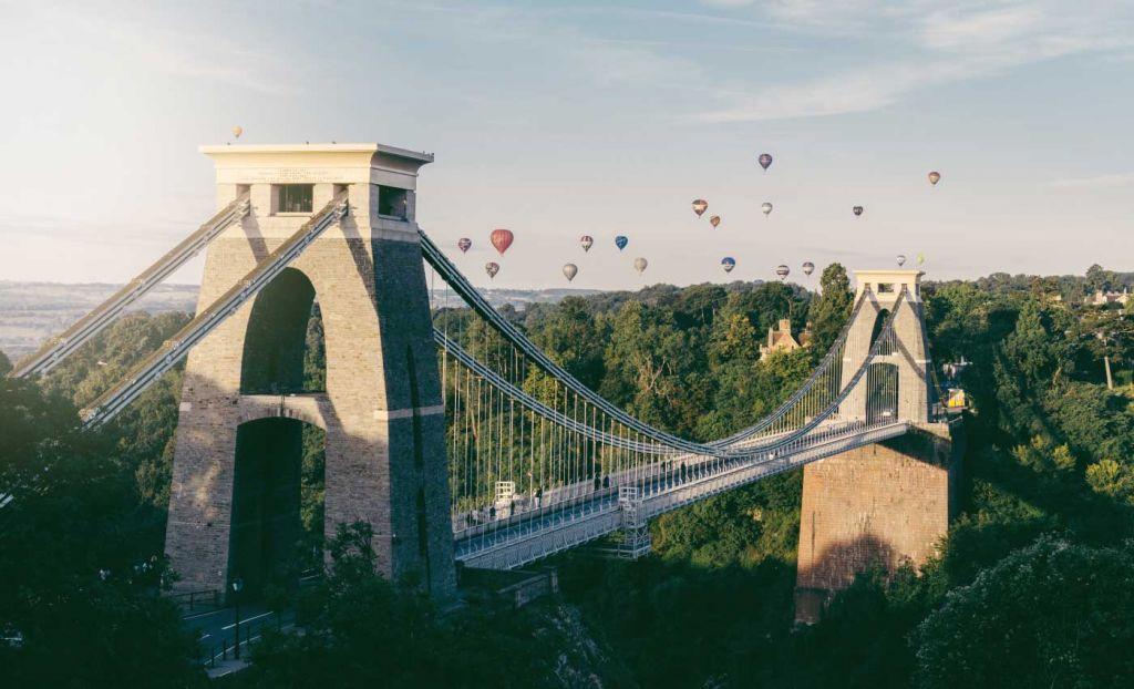 Clifton Bridge in Bristol - Best UK city breaks