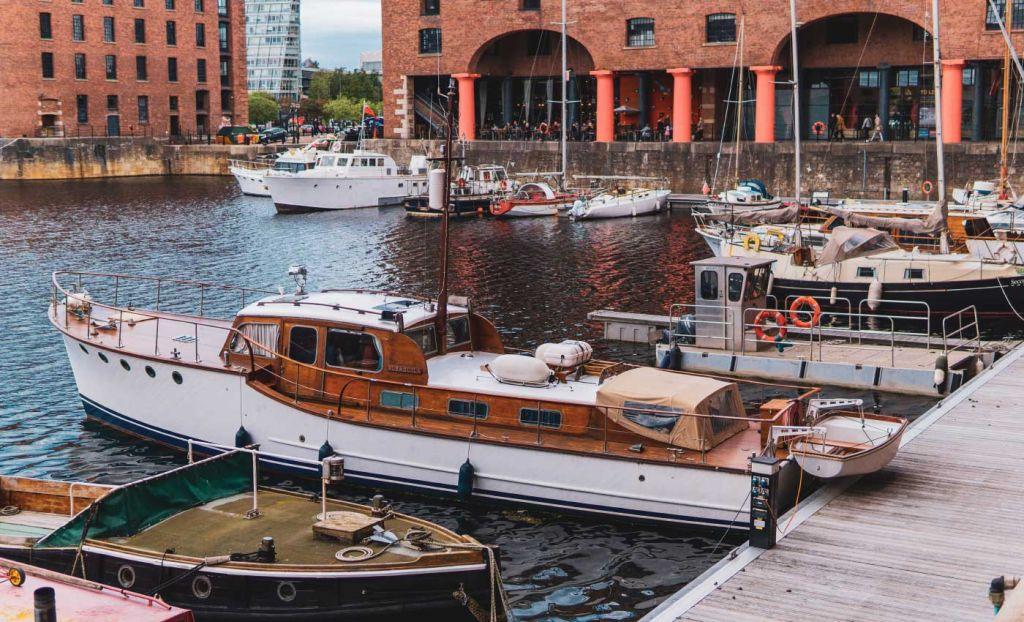 Liverpool marina boats - Top UK cities breaks