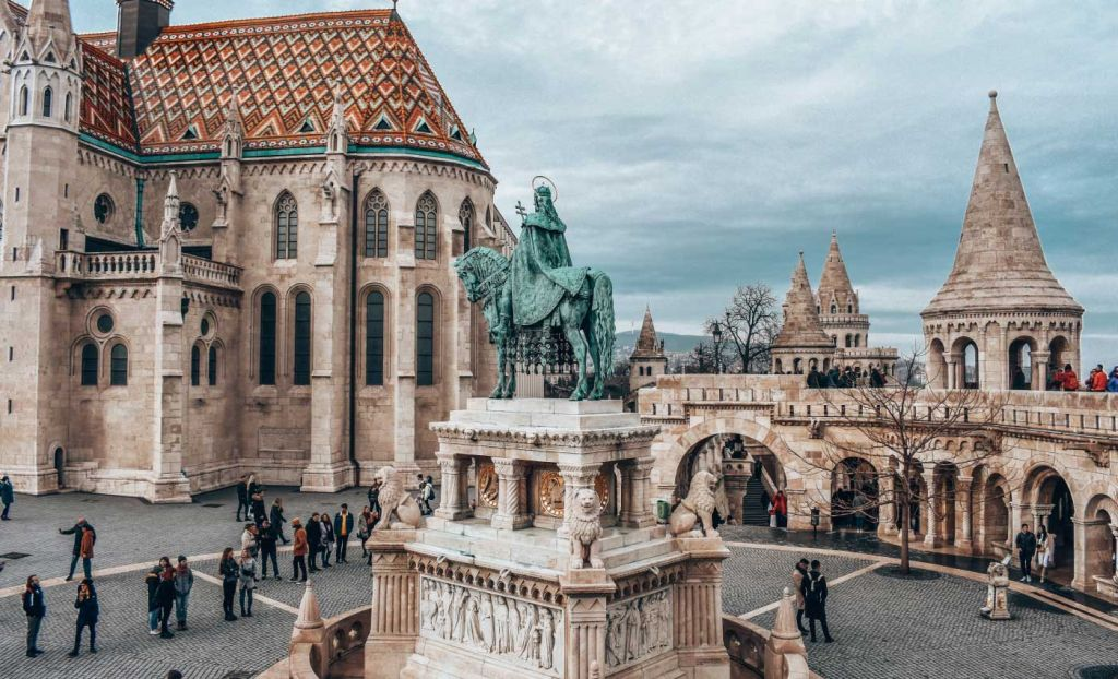 Best places for a group holiday - Shows Budapest castle