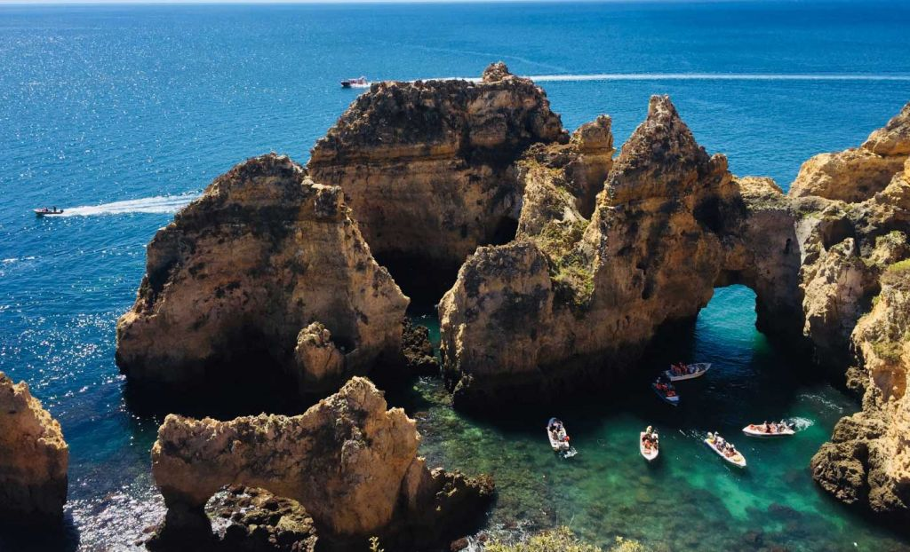 Best group holiday destinations - Rock formations of Lagos
