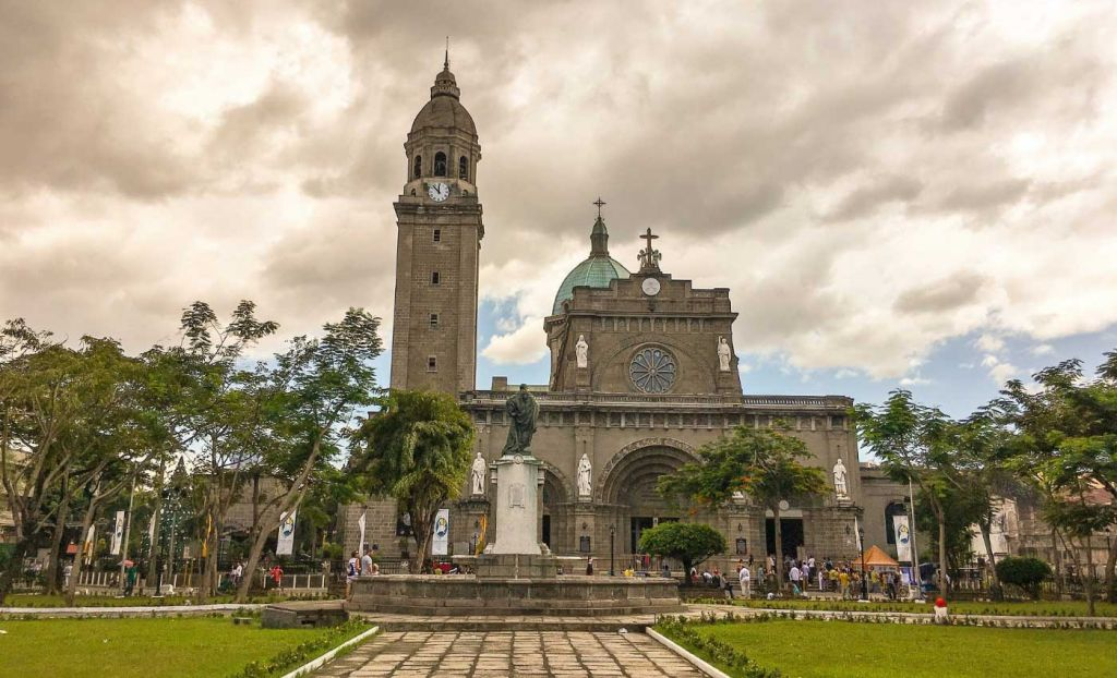 San Augustin Church and Gardens