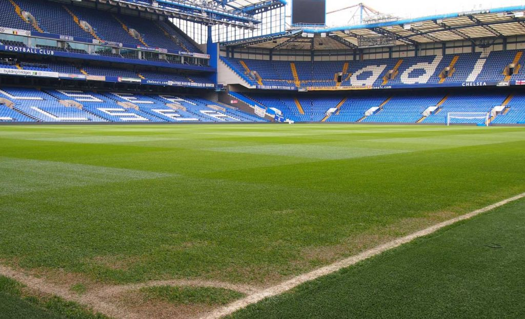 Best Things to do South West London - Stamford Bridge pitch