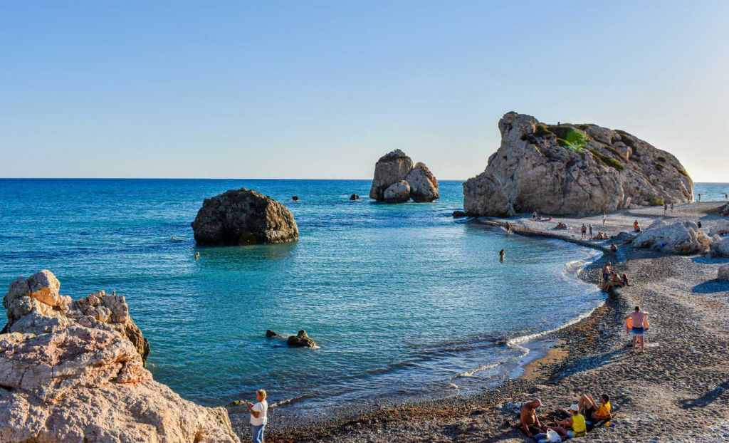 Best all inclusive holiday destinations - Shows a beach in Cyprus