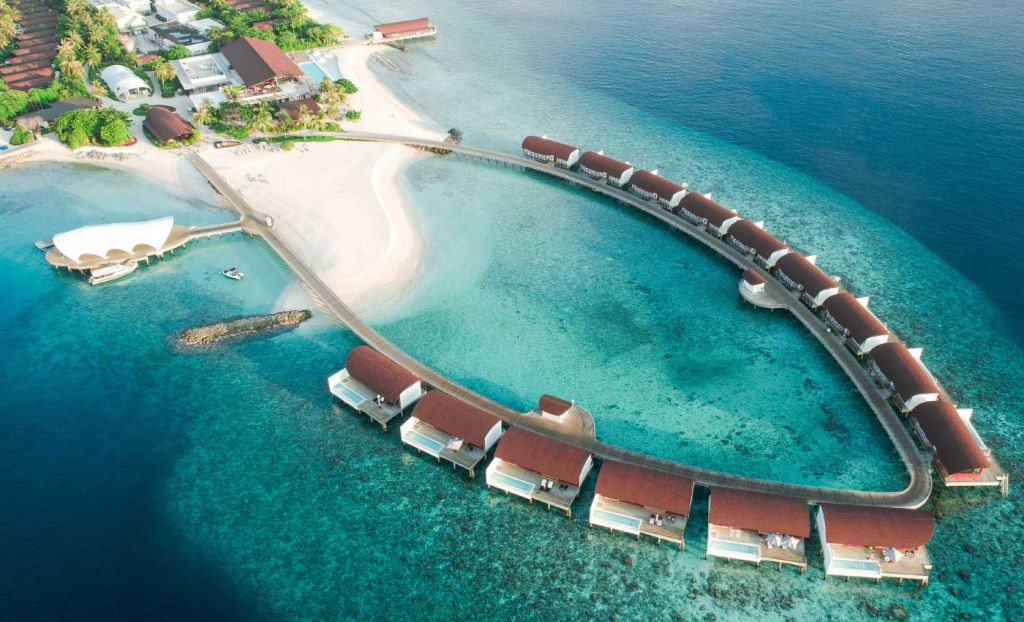Water Bungalow hotels in the Maldives