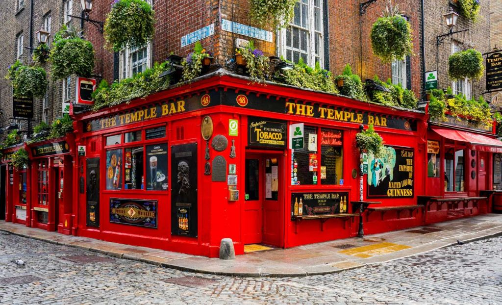 Picture of Temple Bar in Dublin