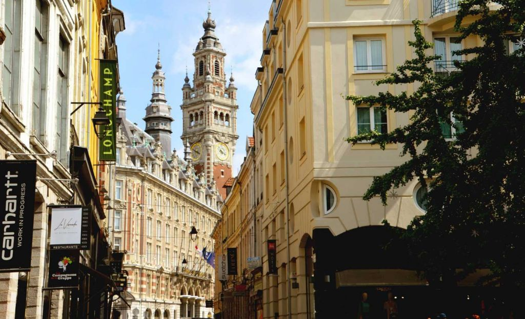 Europe day trips from London on the Eurostar - Shows the streets of Lille