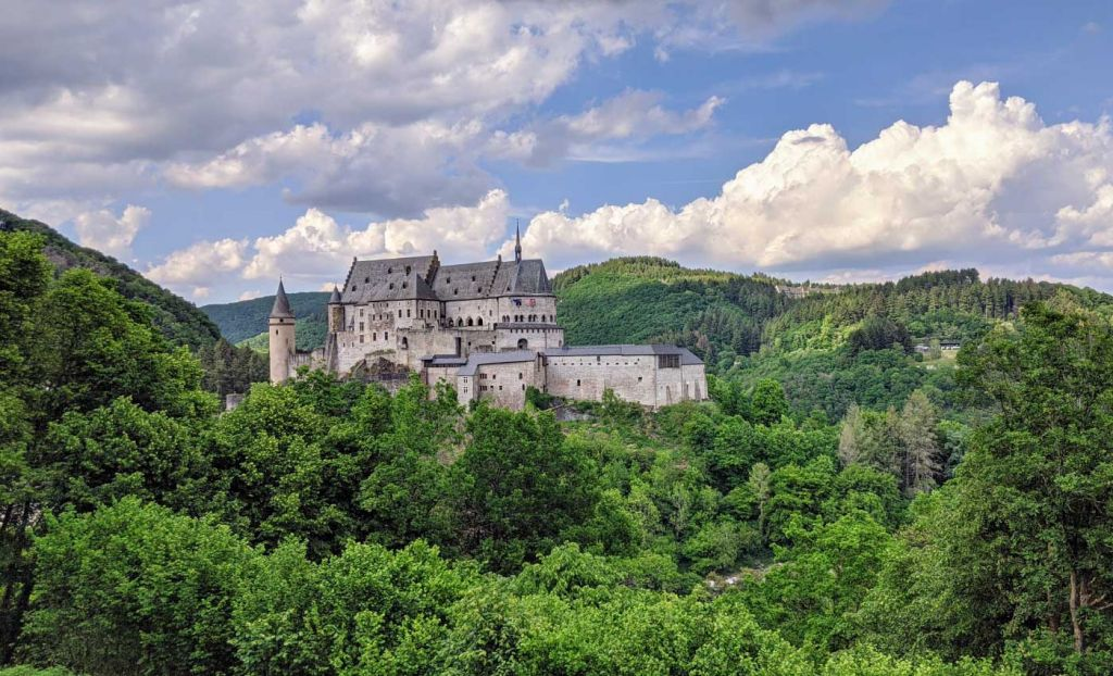 Europe day trips from London - Shows a castle in Luxembourg