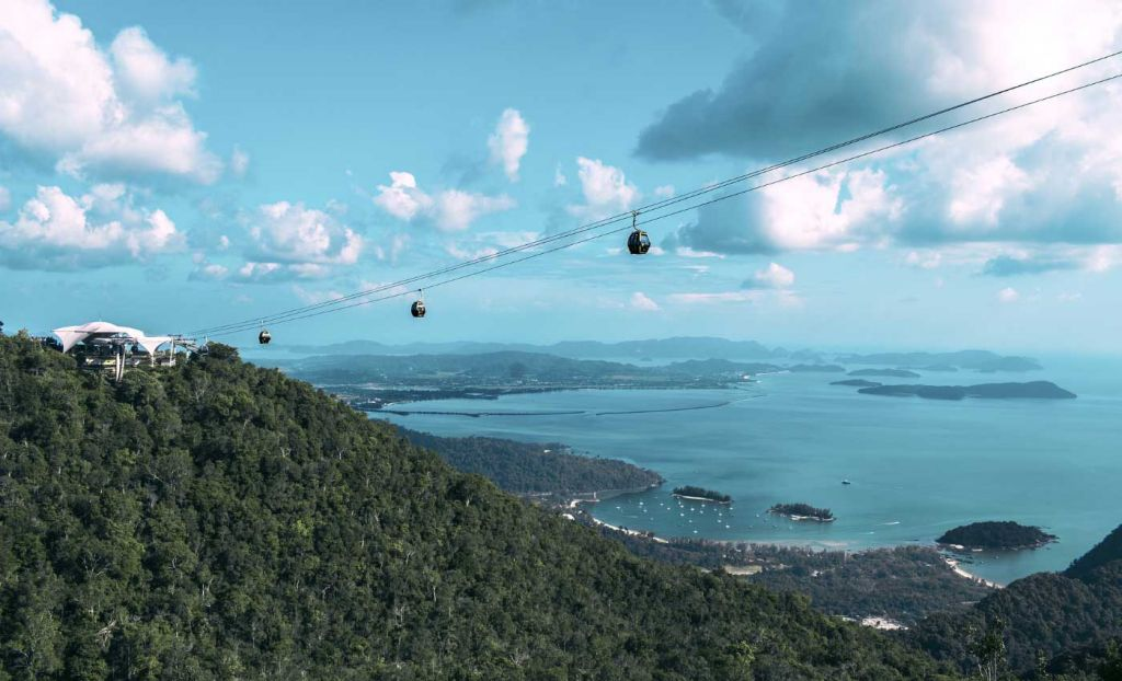 Langkawi attractions - SkyCab cable car