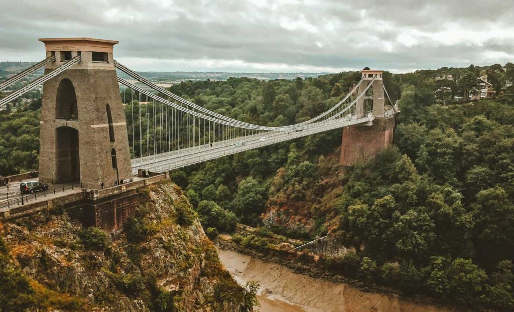 The Clifton Suspension Bridge in Bristol - 3 week UK itinerary