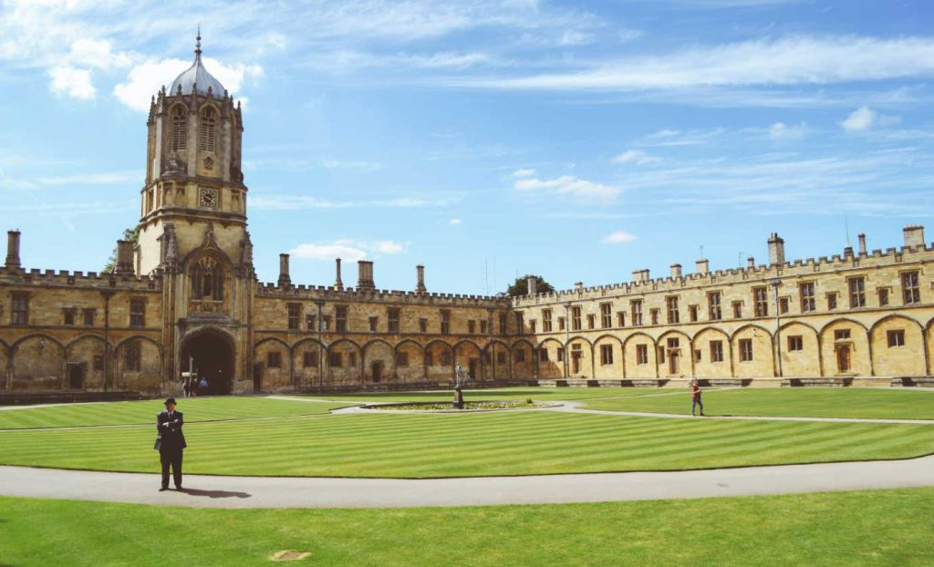 Oxford University Campus grounds