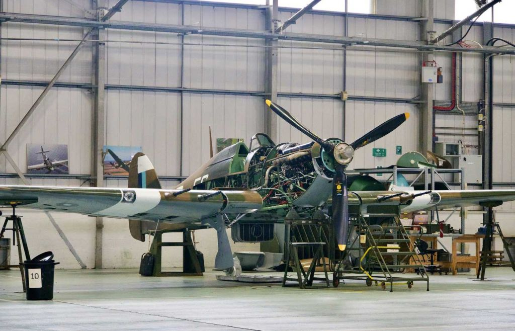 Best days out in Yorkshire - Air Museum Spitfire