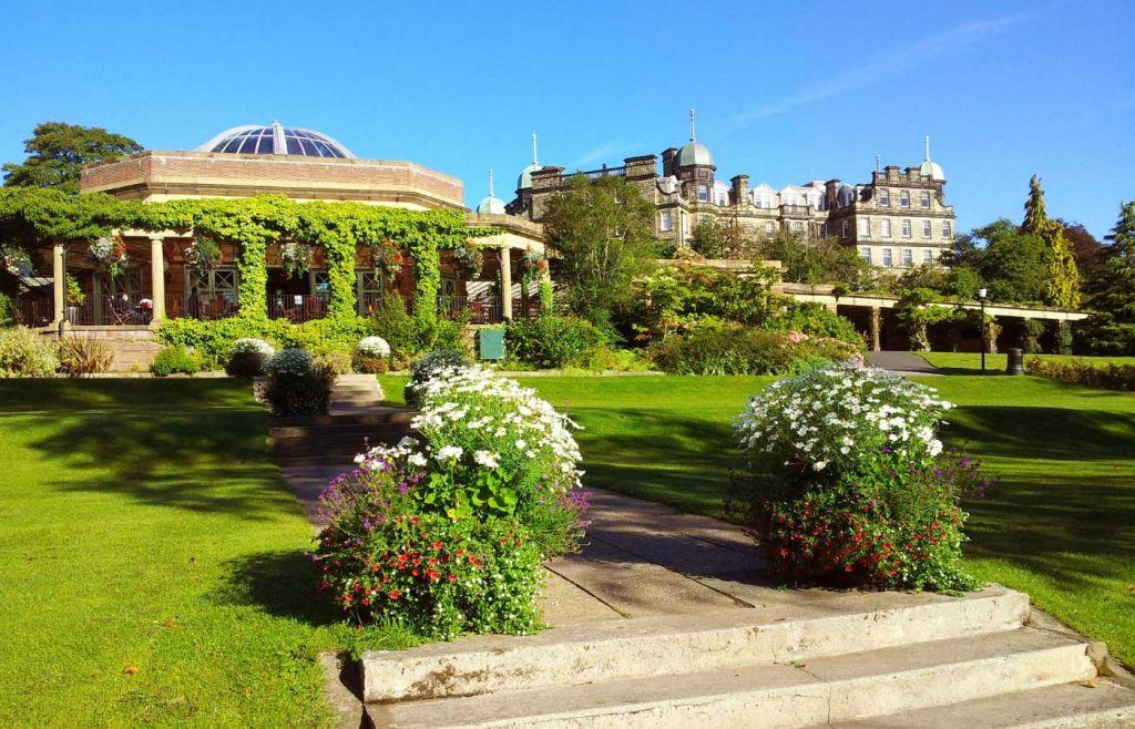 Harrogate Gardens and castle