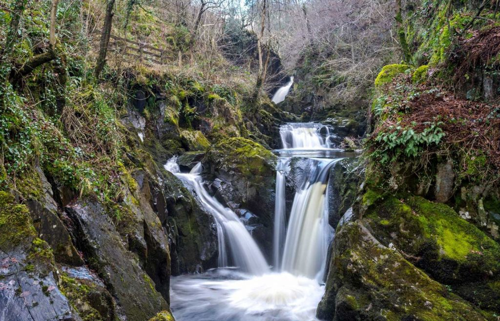 Best places to visit in Yorkshire - Ingleton Waterfalls