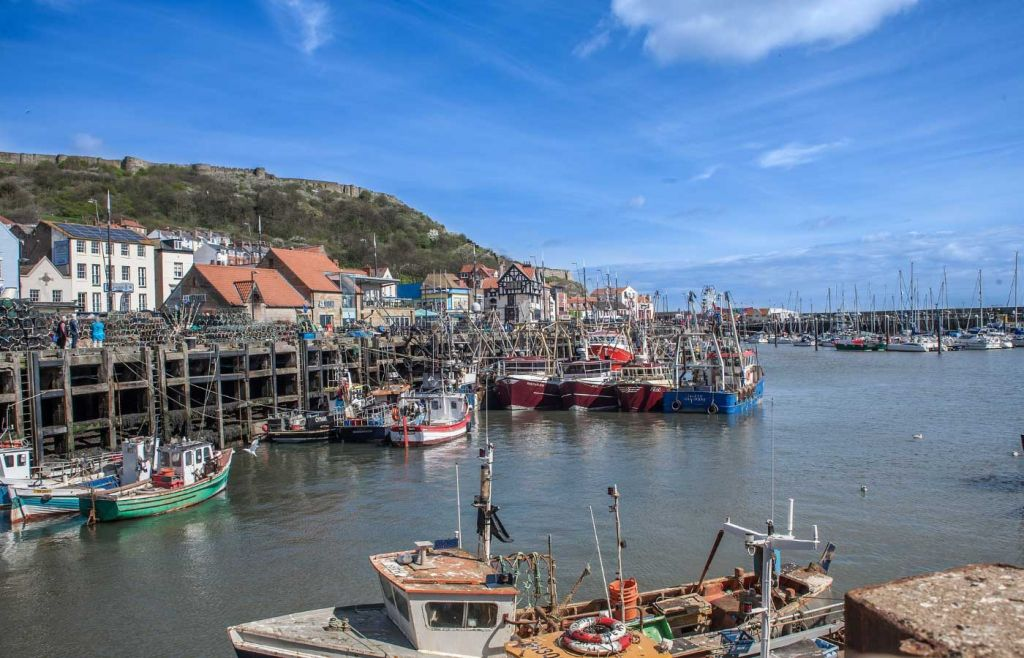 Best places to visit in Yorkshire - Scarborough marina