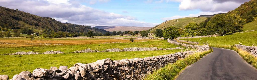 Places to visit in Yorkshire - Shows Yorkshire countryside