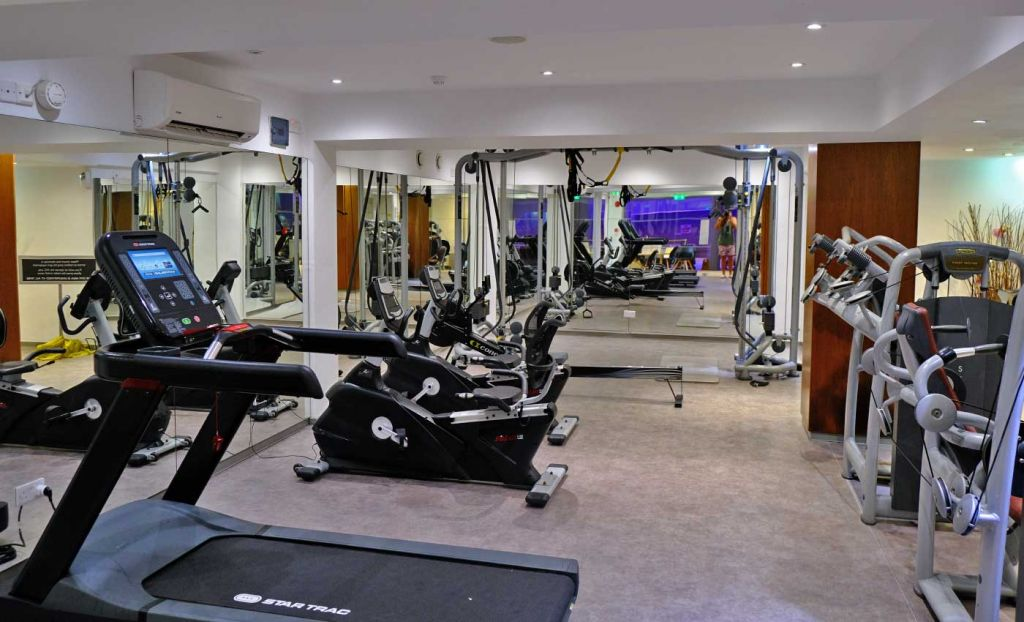 The King Jason Paphos Hotel gym