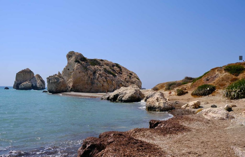 The best things to do in Paphos - Petra tou Romiou beach