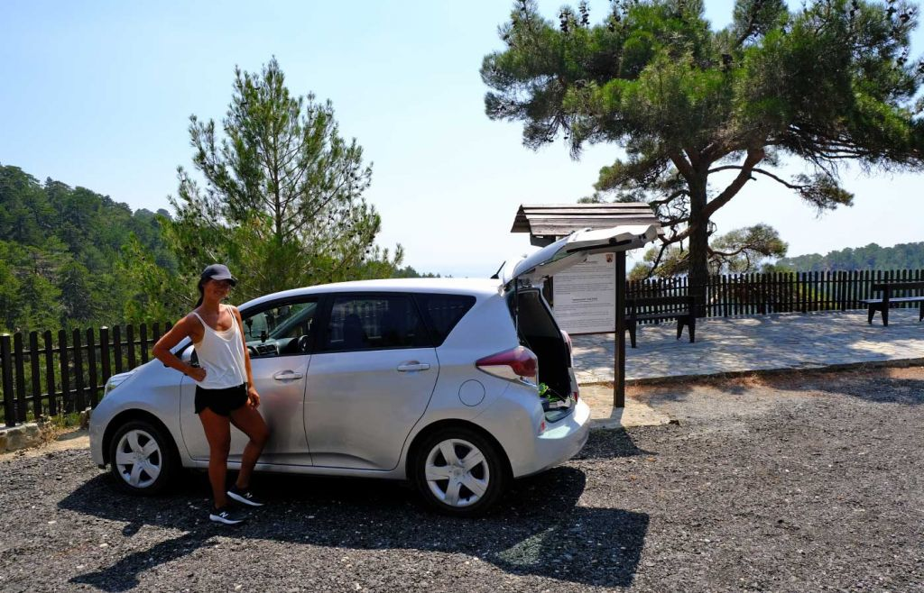 Troodos Mountains car hire and excursions