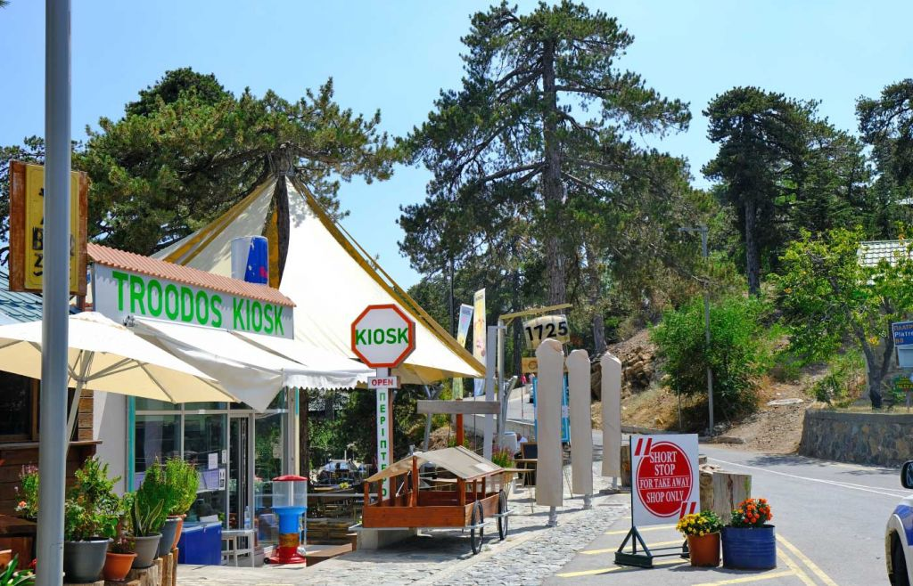Troodos Square - Troodos Mountains itinerary