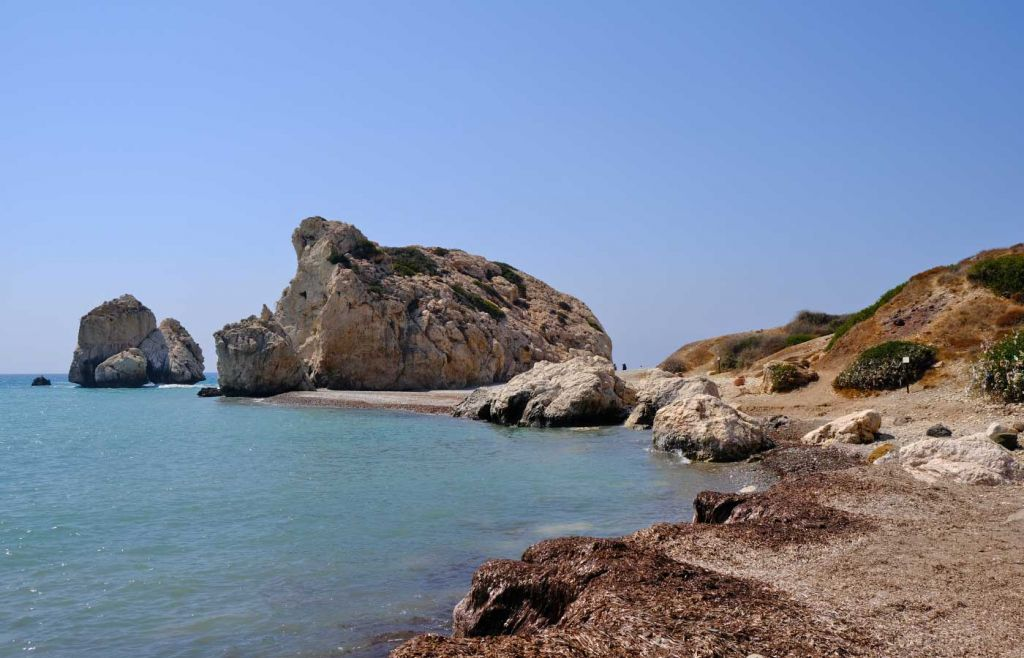 Petra tou Romiou attraction in Paphos