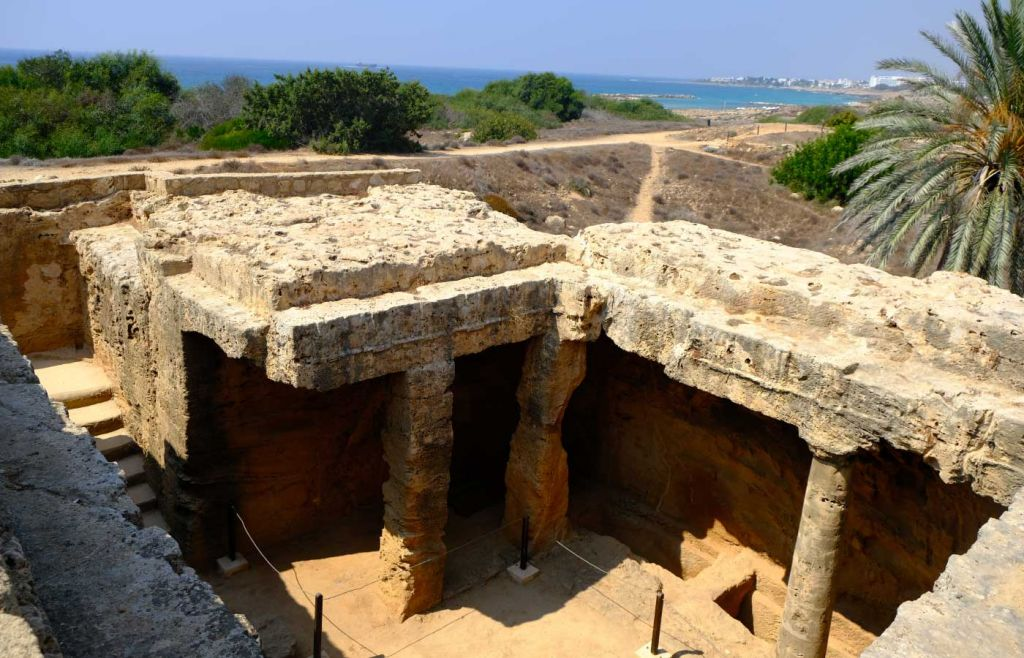 Paphos travel guide - Tomb of the Kings monument