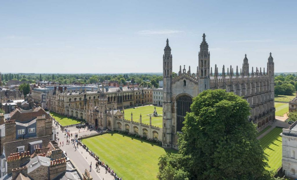 Top things to do in Cambridge - Kings College from outside