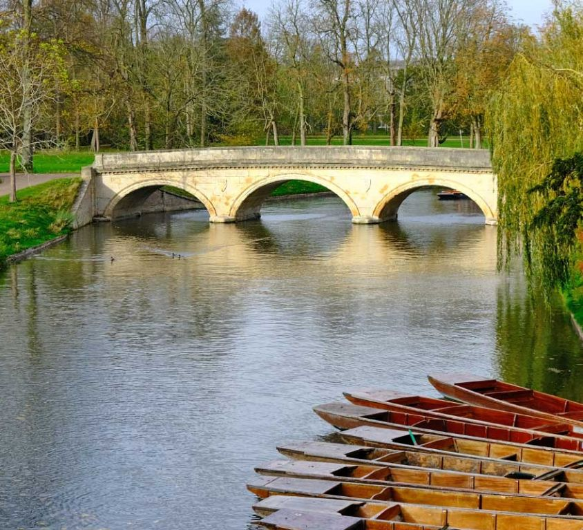 Things to do in Cambridge - Shows River Cam bridge