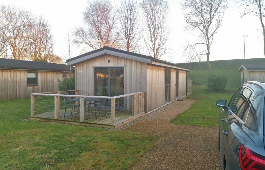 Cedar Retreats West Tanfield - Shows One Bedroom Lodge