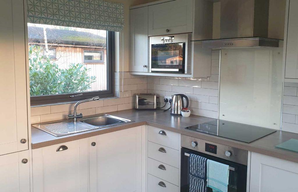 Cedar Retreats North Yorkshire - Kitchen area