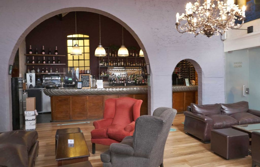 Bar relaxation area