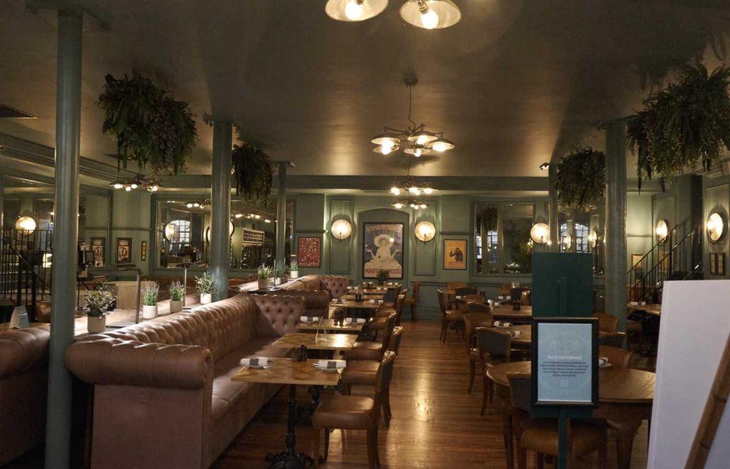 Inside the Bistro at Hotel Du Vin Henley