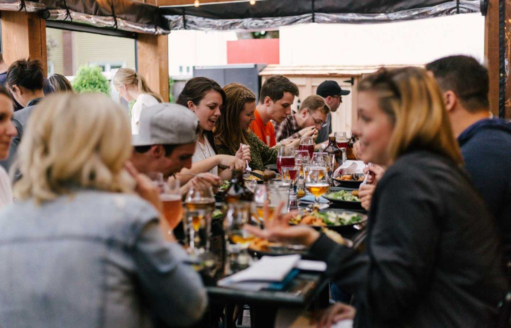 Tips for living abroad - Dining with the locals