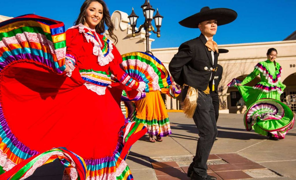Traditional Mexican dancers - Tips for learning a new language