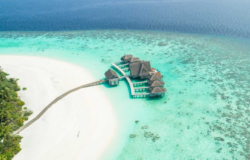 Where to go on holiday in 2021 - Maldives beach bungalow